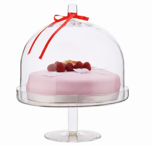 Cupcake Stand & Dome 30cm